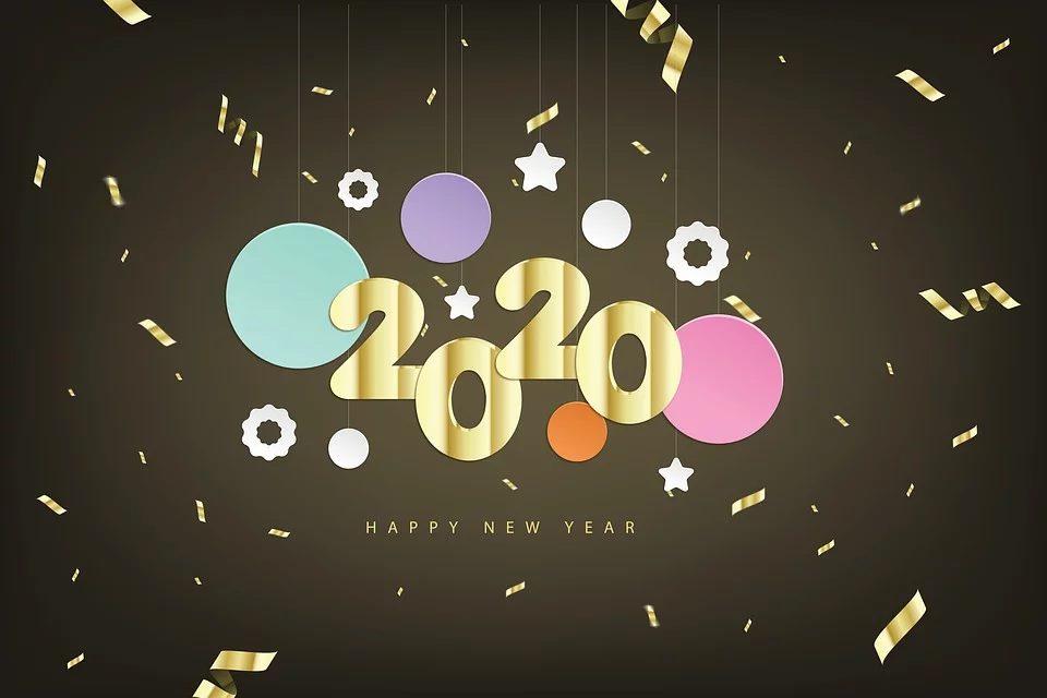 Belle et heureuse année 2020 !
